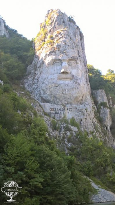 King Decebal Rock
